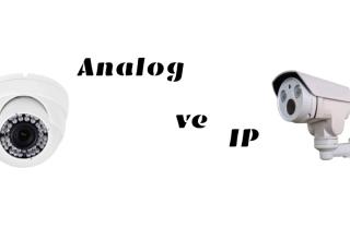 Analog ve IP Kamera Karşılaştırması