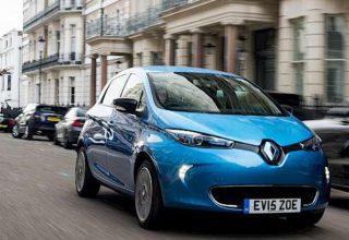 Renault ZOE ZE50 (2020) Elektrikli Şarj Cihazları