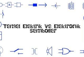 Temel Elektrik ve Elektronik Semboller